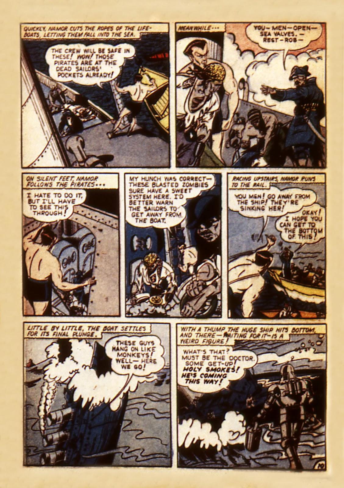 Sub-Mariner Comics Issue #7 #7 - English 12