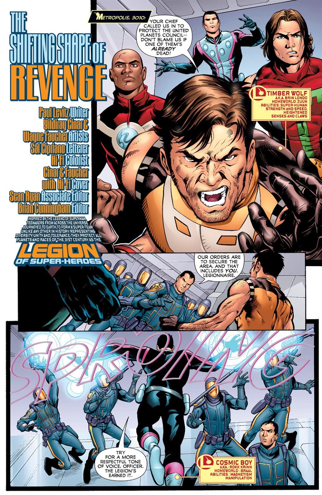 Legion of Super-Heroes (2010) Issue #7 #8 - English 2