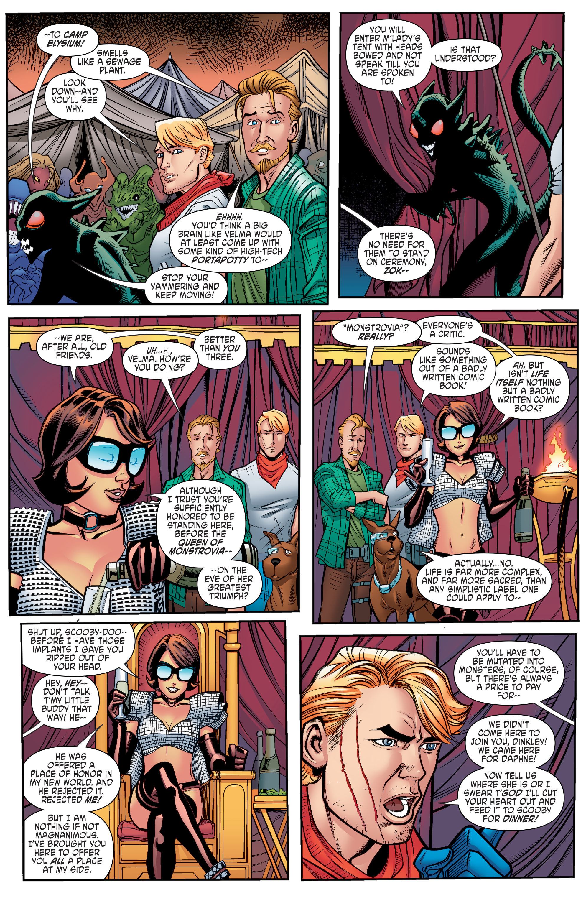 Read online Scooby Apocalypse comic -  Issue #10 - 18