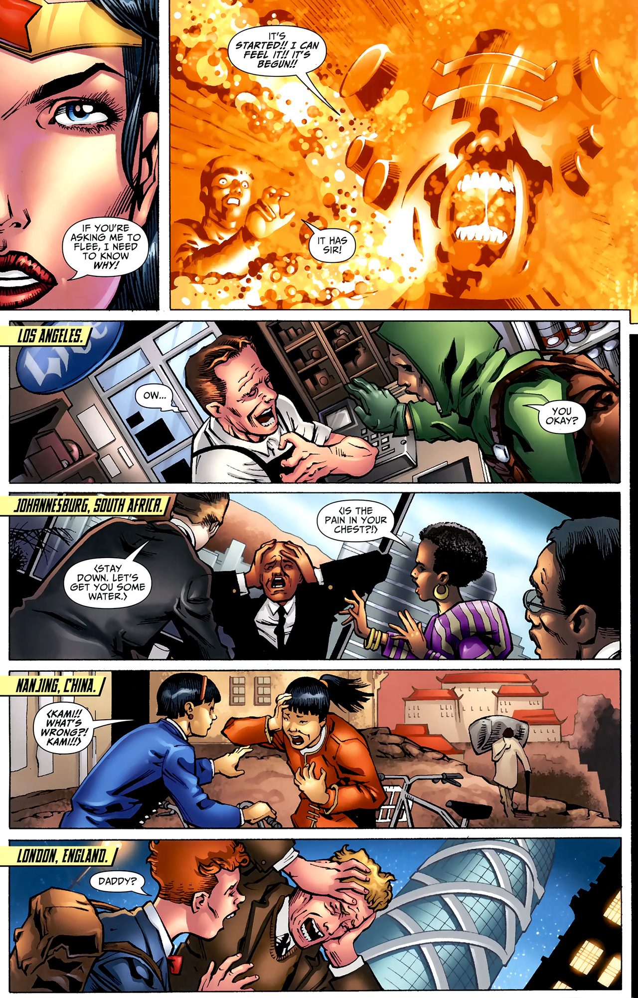 Read online Justice League: Generation Lost comic -  Issue #22 - 18