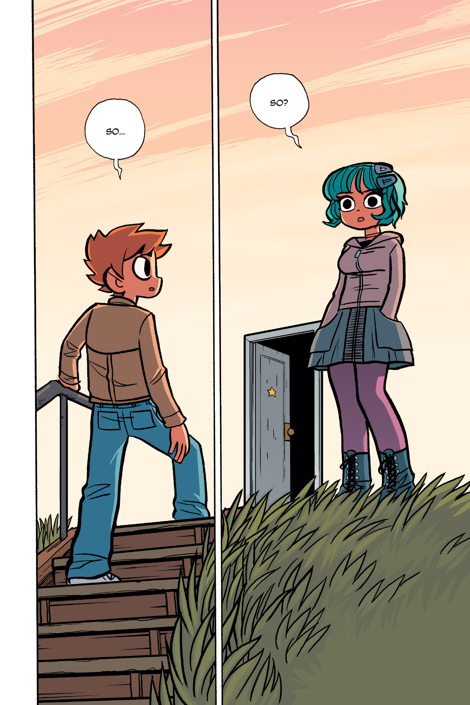 Read online Scott Pilgrim comic -  Issue #6 - 237