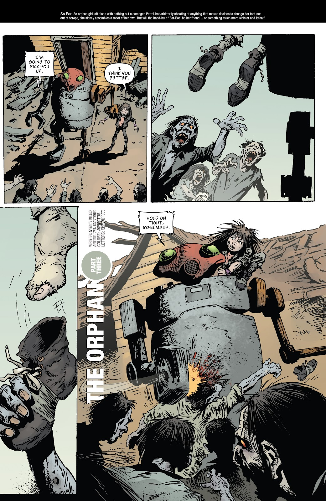 Zombies vs Robots (2015) Issue #3 Page 14