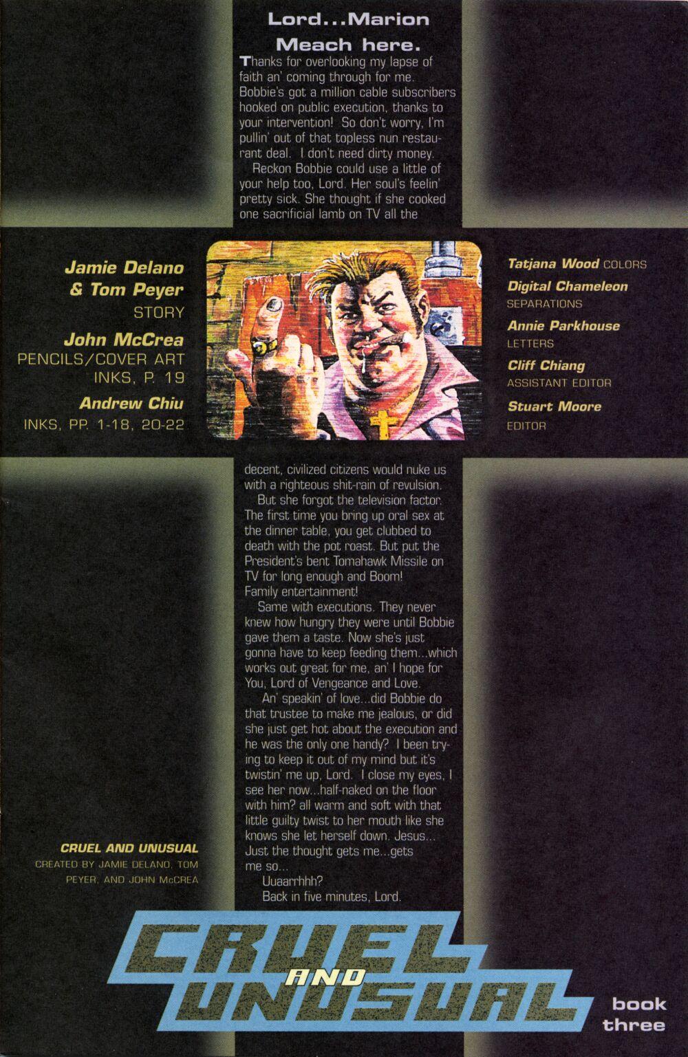 Cruel and Unusual 3 Page 1