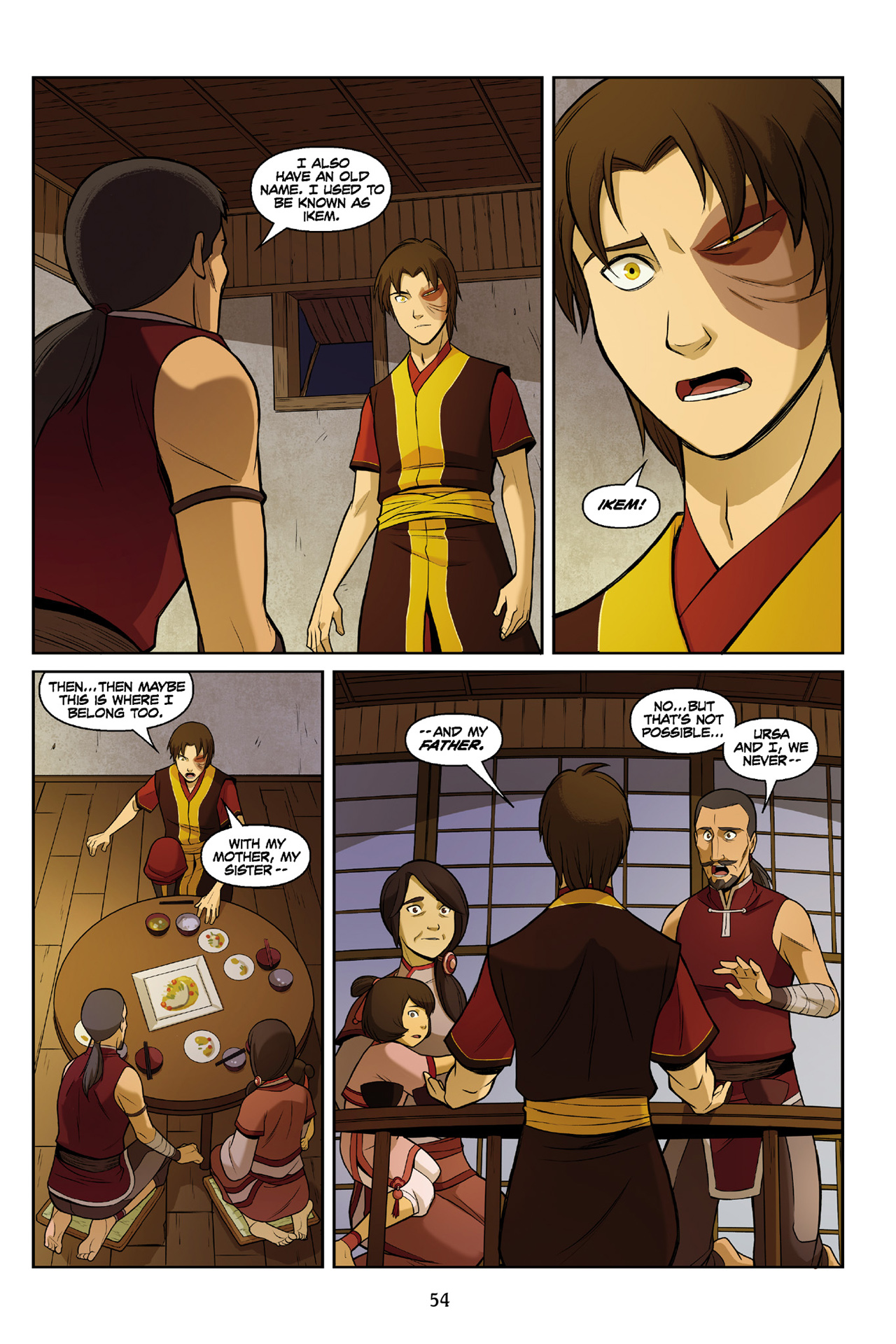 Read online Nickelodeon Avatar: The Last Airbender - The Search comic -  Issue # Part 3 - 55