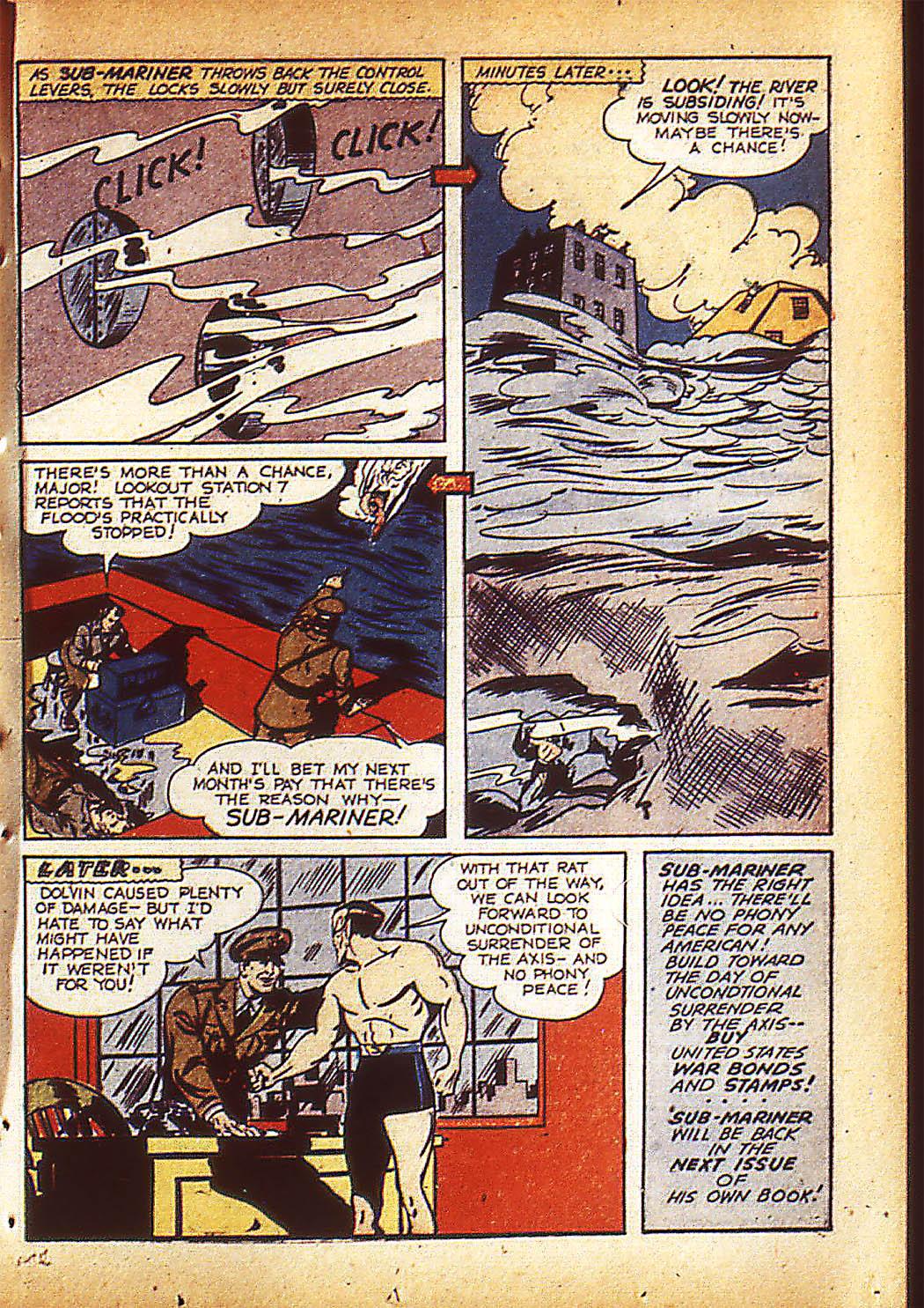 Sub-Mariner Comics Issue #10 #10 - English 22