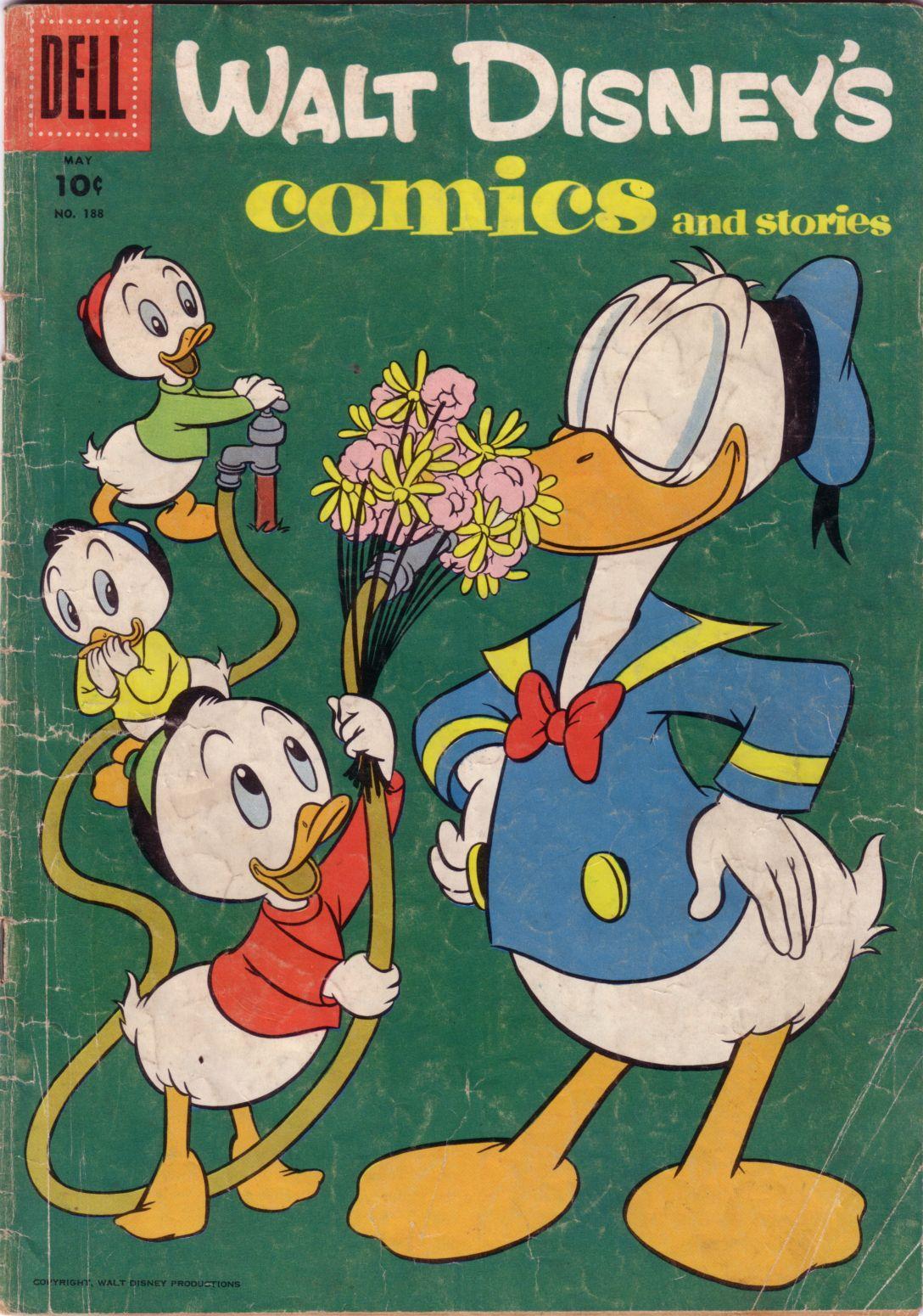 Walt Disneys Comics and Stories 188 Page 1