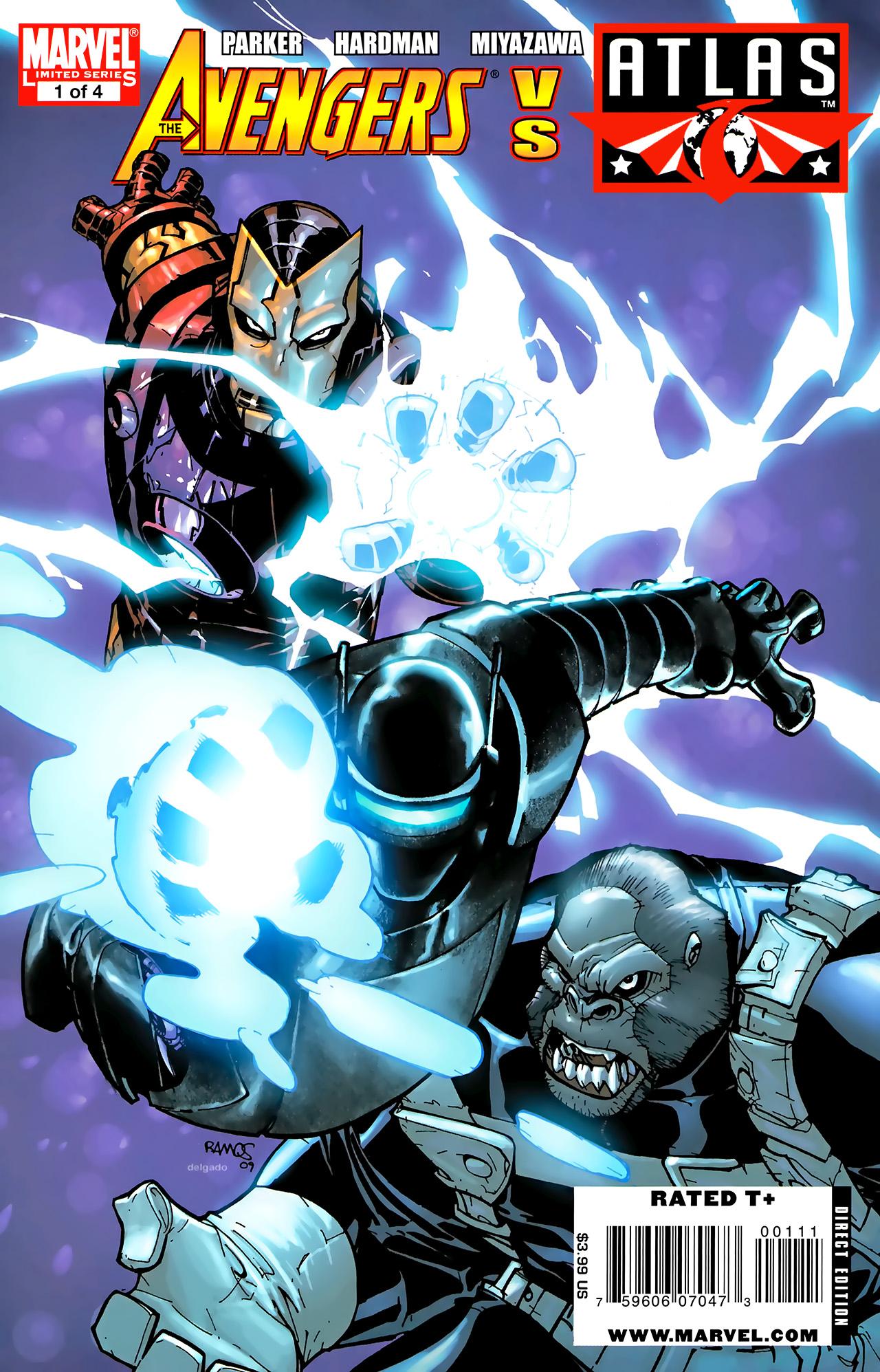 Avengers vs. Atlas 1 Page 1