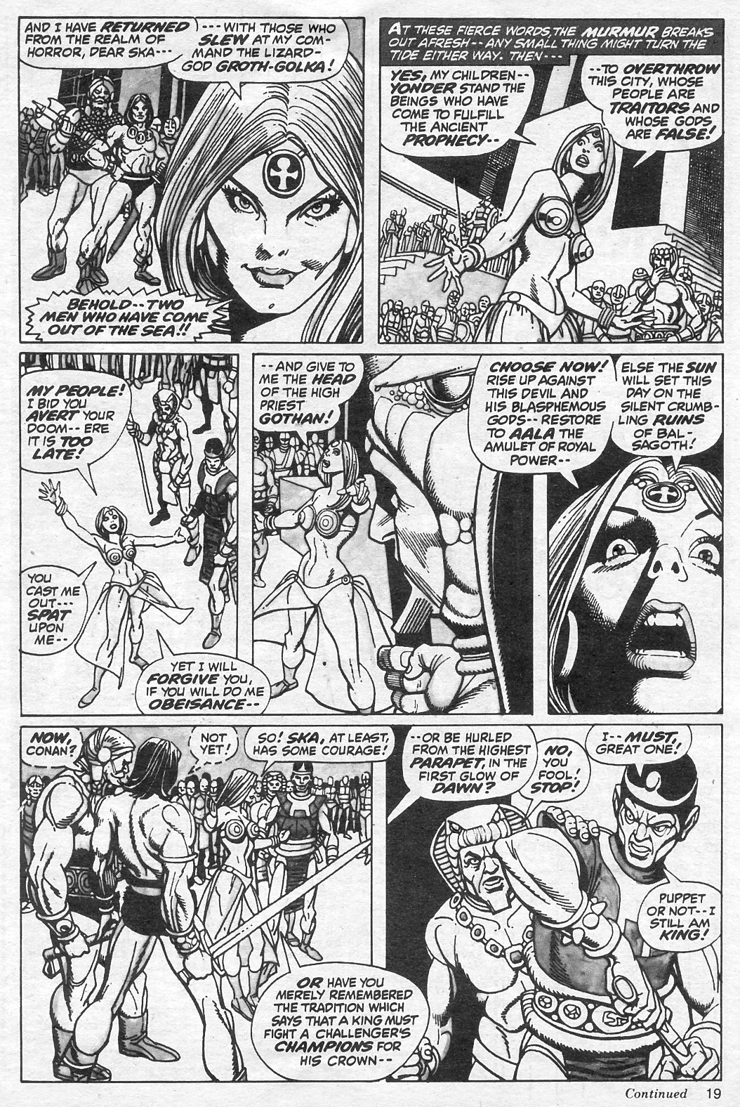 The Savage Sword Of Conan Issue #13 #14 - English 19