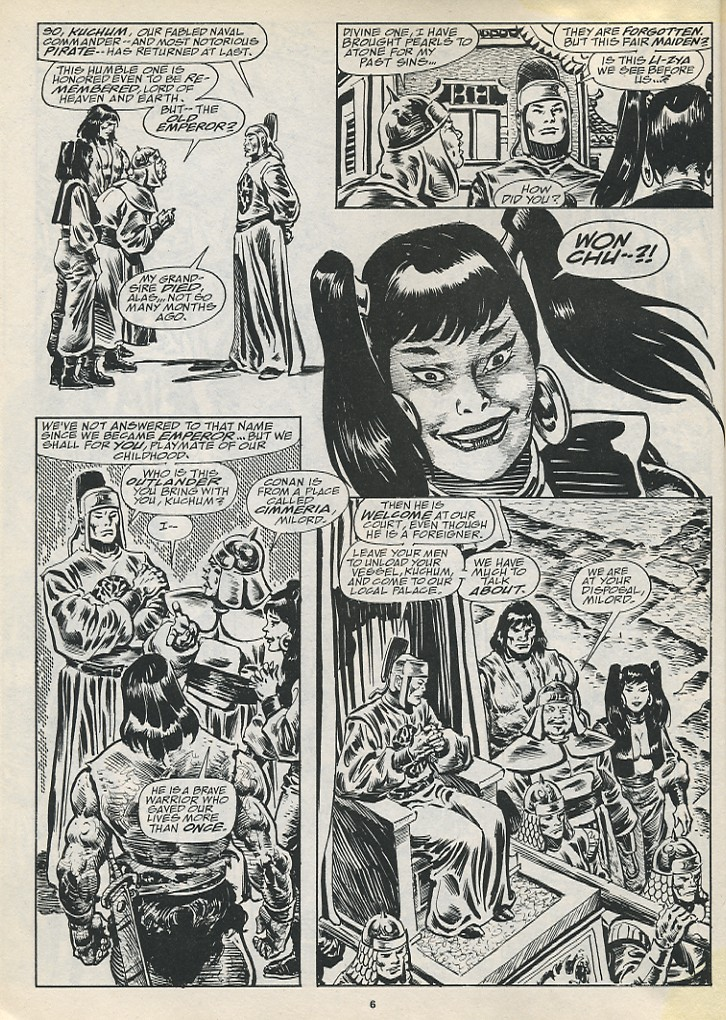 The Savage Sword Of Conan Issue #194 #195 - English 8