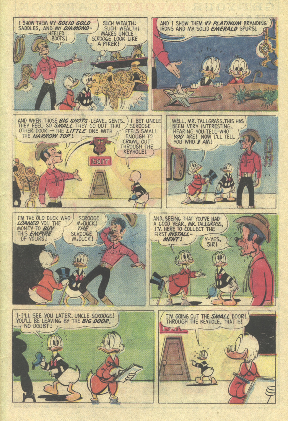 Uncle Scrooge (1953) Issue #135 #135 - English 33