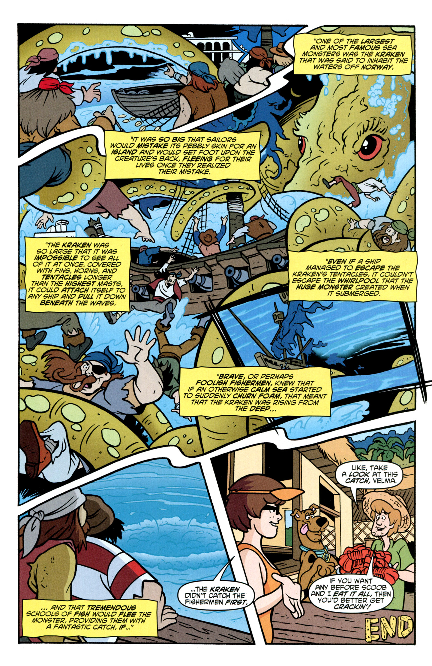 Read online Scooby-Doo: Where Are You? comic -  Issue #30 - 29