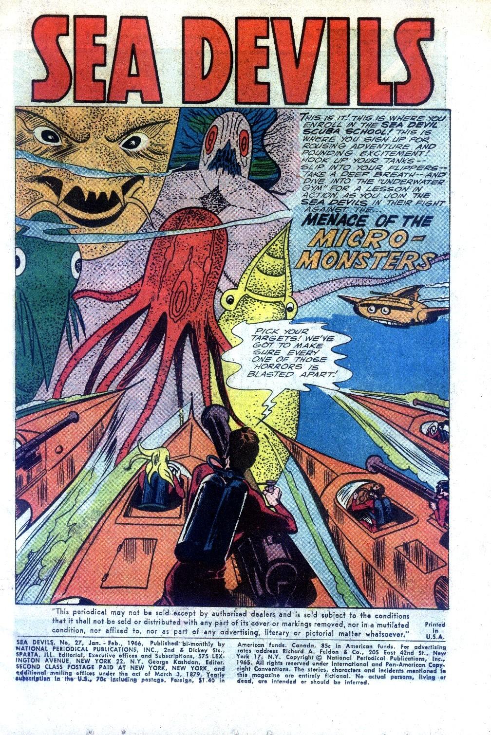 Read online Sea Devils comic -  Issue #27 - 4