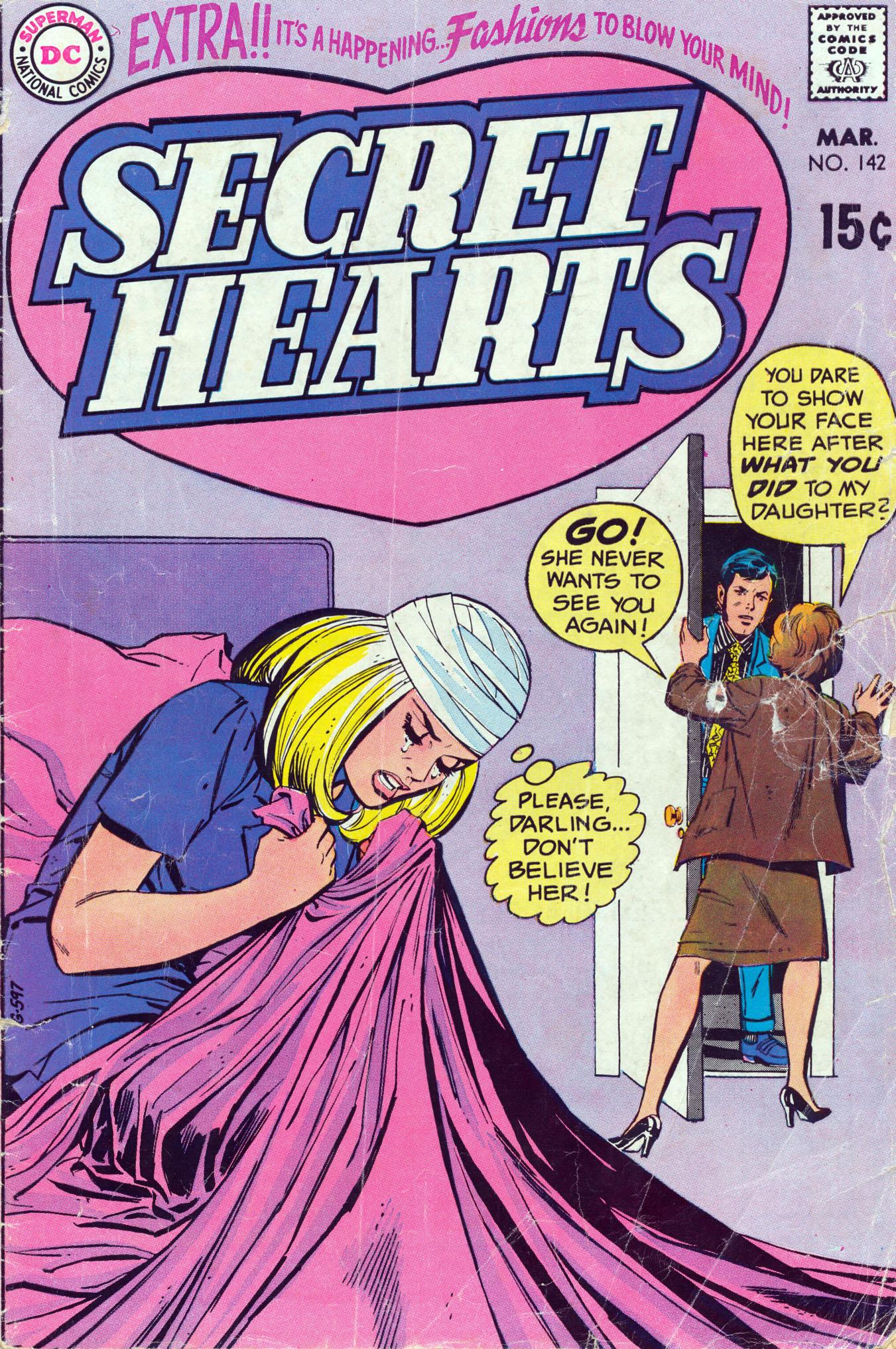 Read online Secret Hearts comic -  Issue #142 - 1