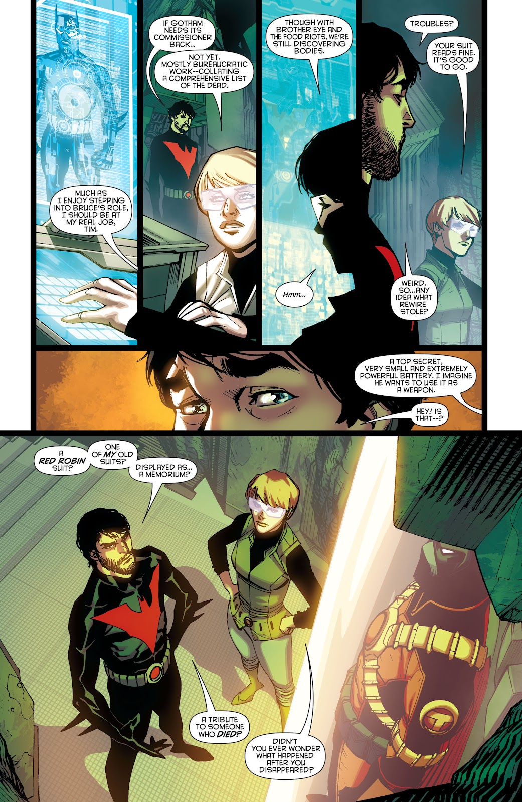 Batman Beyond (2015) Issue #13 #13 - English 7