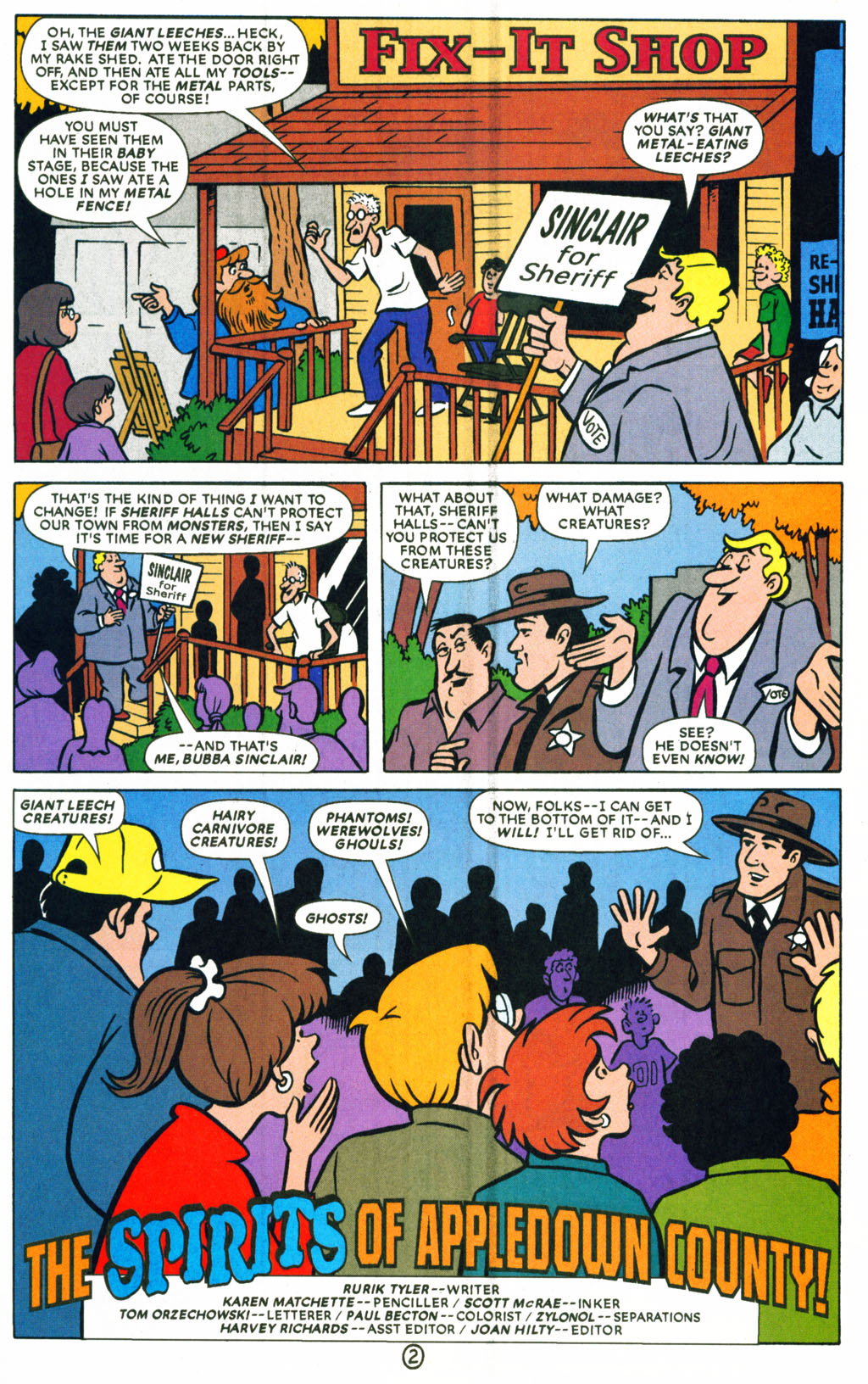 Read online Scooby-Doo (1997) comic -  Issue #71 - 15
