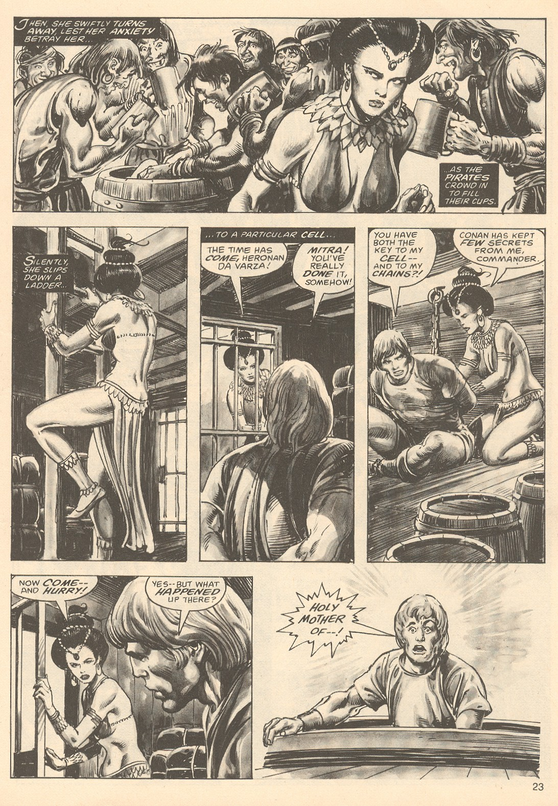 The Savage Sword Of Conan Issue #67 #68 - English 23