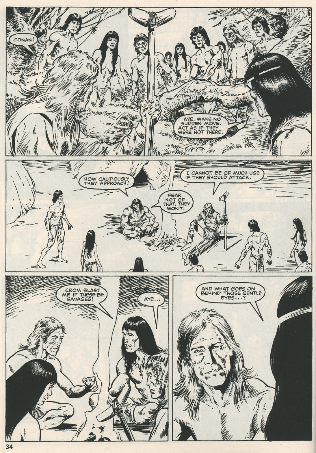 The Savage Sword Of Conan Issue #115 #116 - English 34