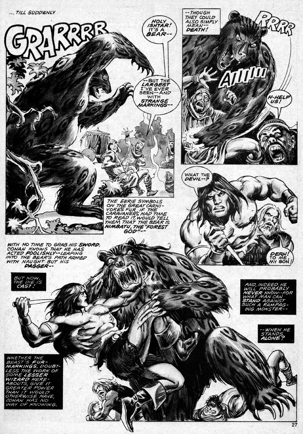 The Savage Sword Of Conan Issue #69 #70 - English 27