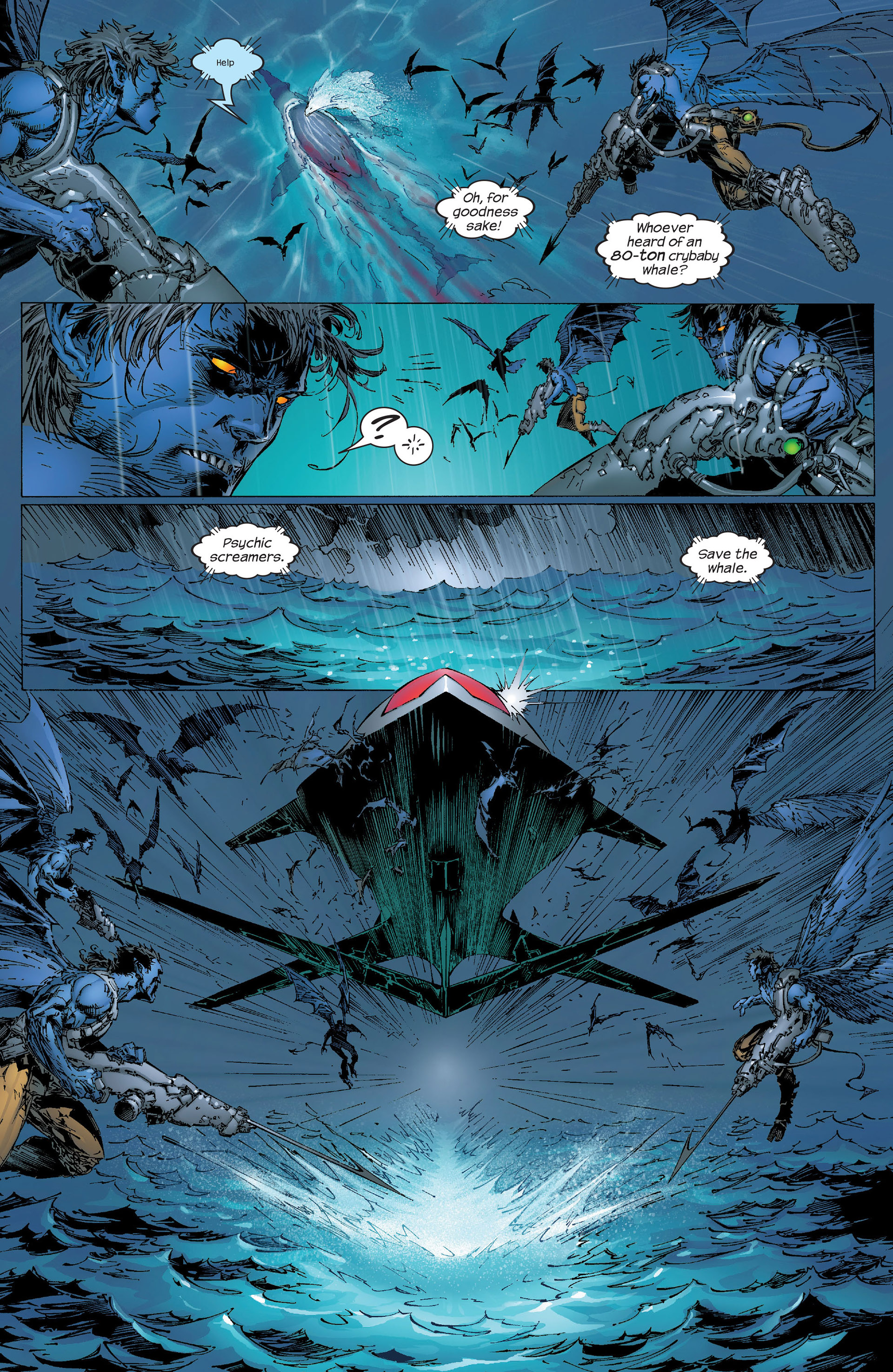 Read online New X-Men (2001) comic -  Issue #153 - 13