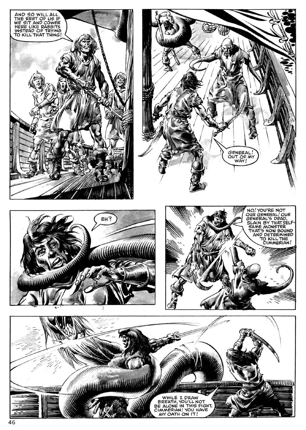 The Savage Sword Of Conan Issue #101 #102 - English 46