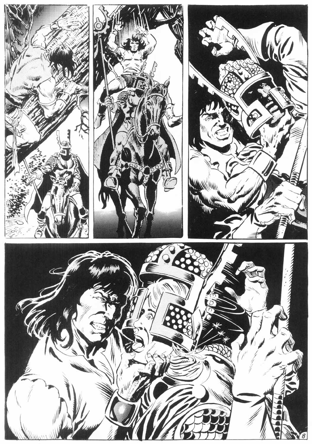 The Savage Sword Of Conan Issue #154 #155 - English 58
