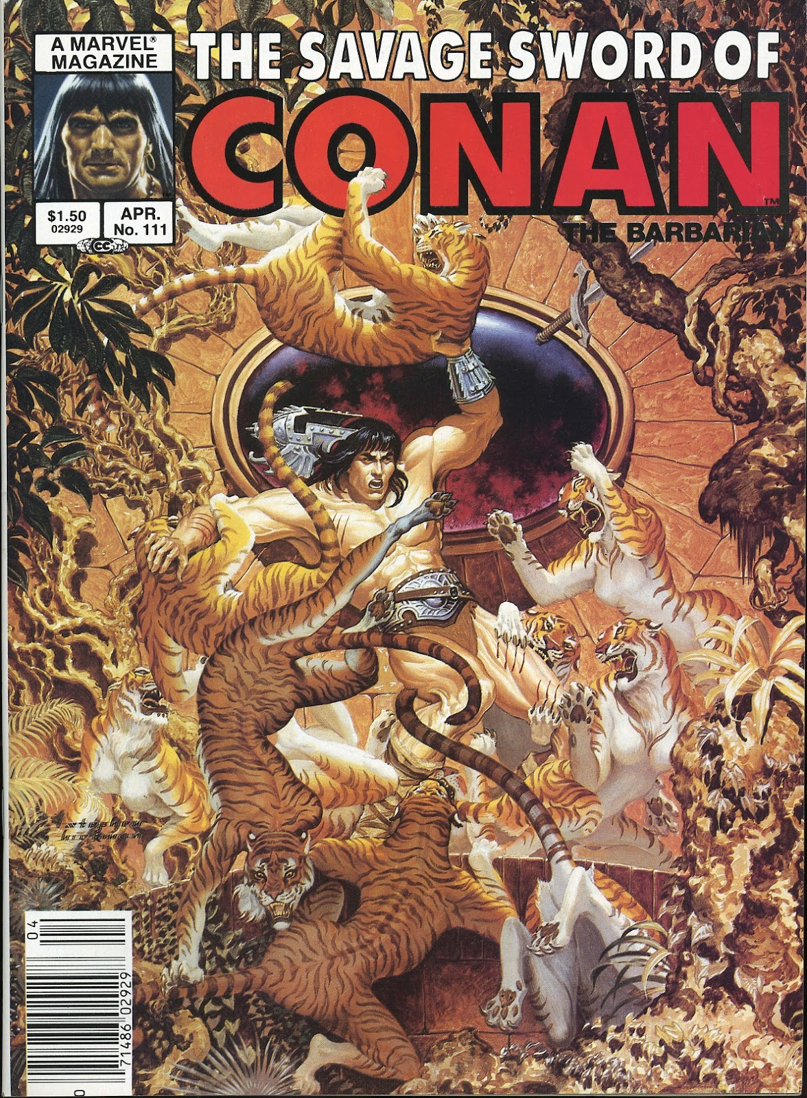 The Savage Sword Of Conan Issue #111 #112 - English 1
