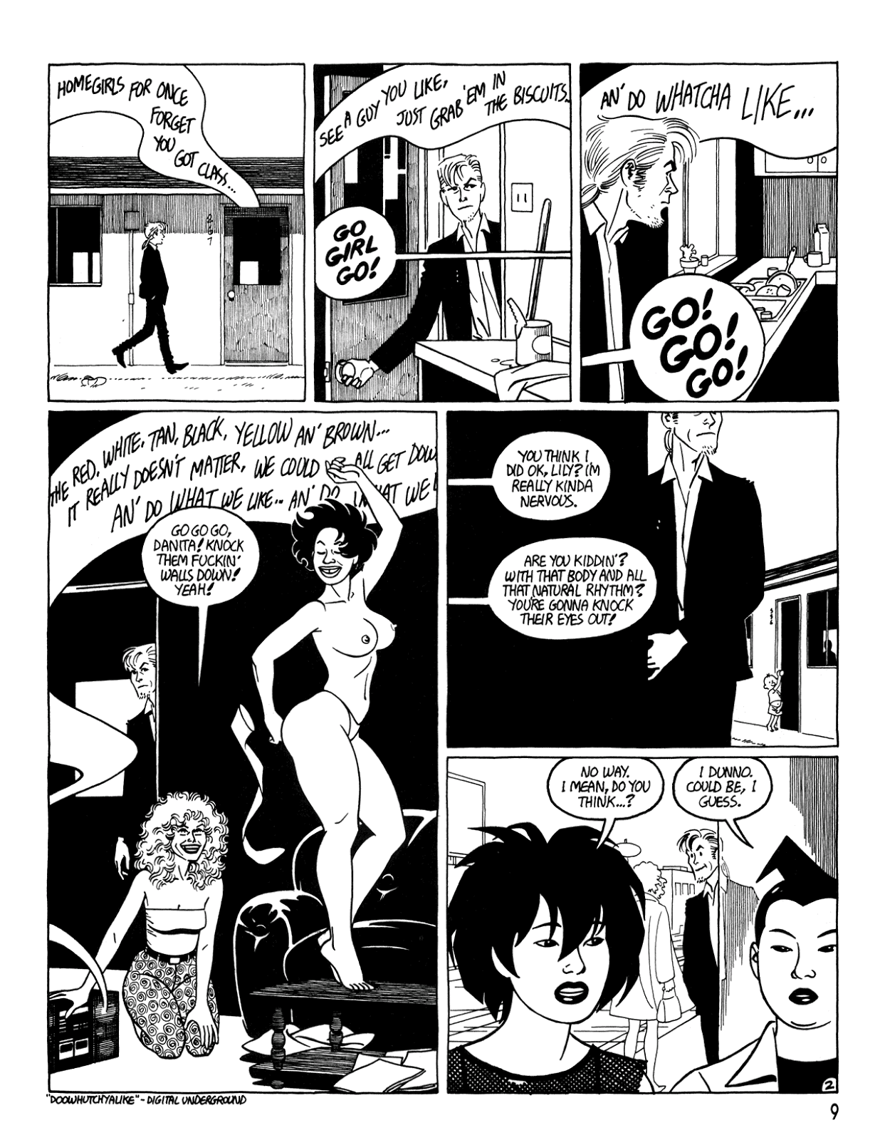 Love and Rockets (1982) Issue #34 #32 - English 11