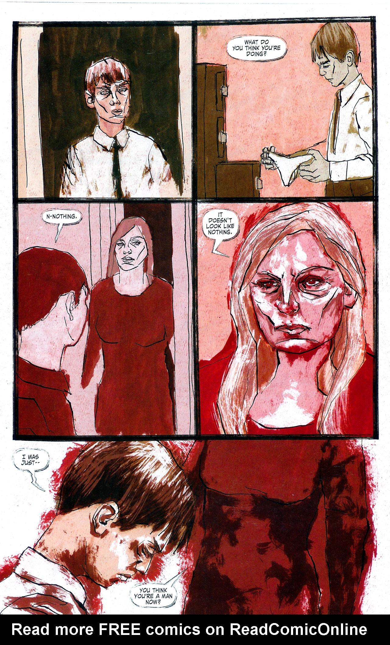 Read online Se7en comic -  Issue #4 - 23