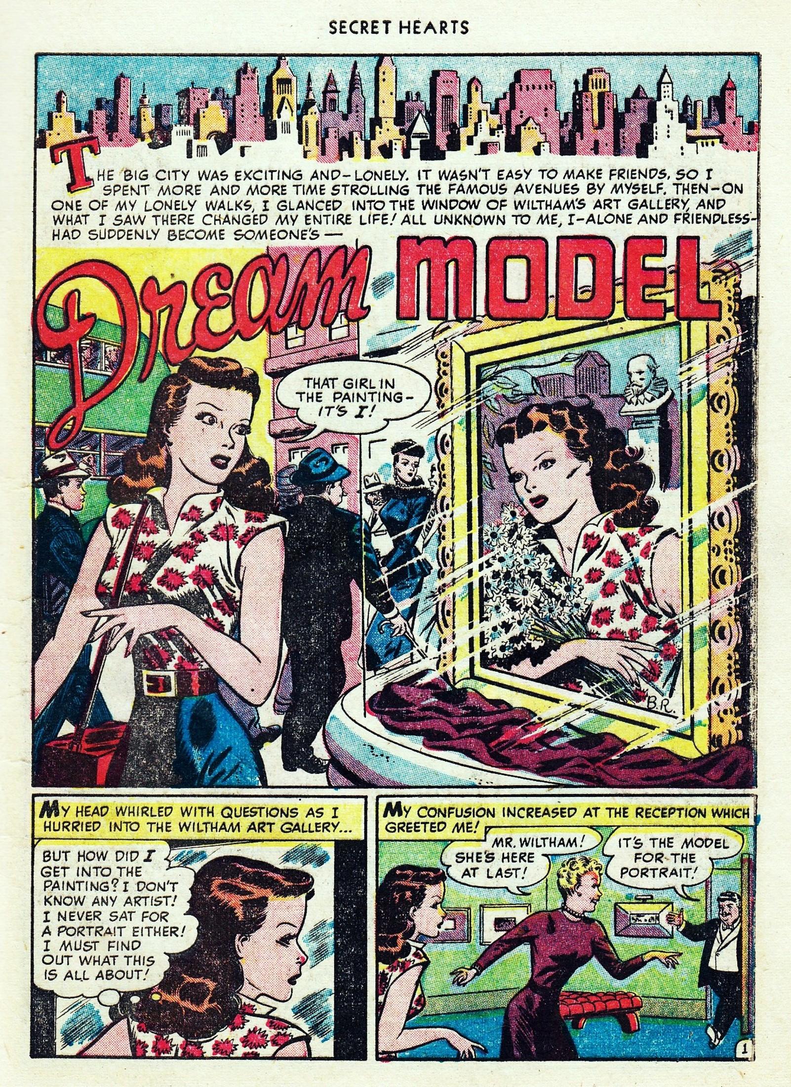 Read online Secret Hearts comic -  Issue #1 - 13