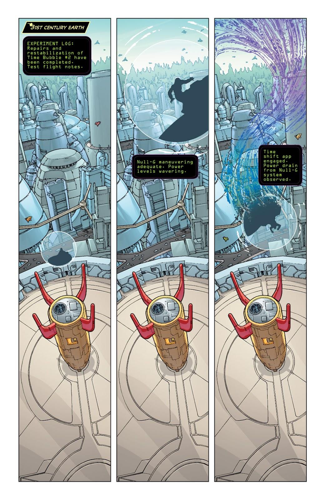 Legion of Super-Heroes (2010) Issue #7 #8 - English 20