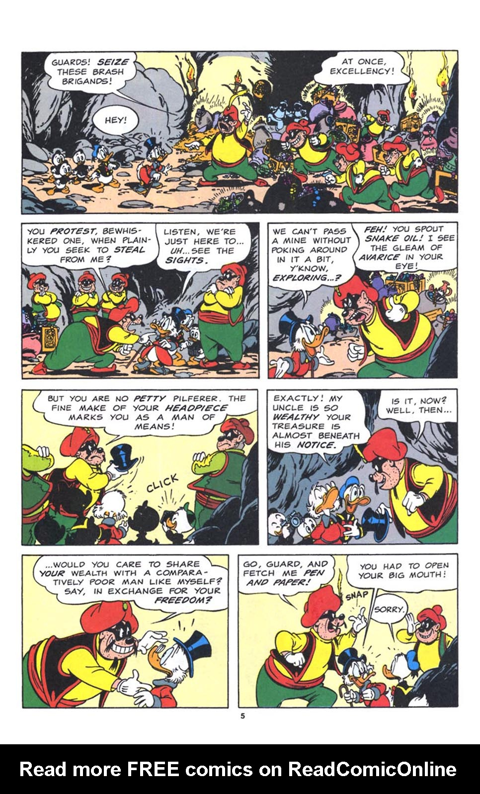Uncle Scrooge (1953) Issue #250 #250 - English 29