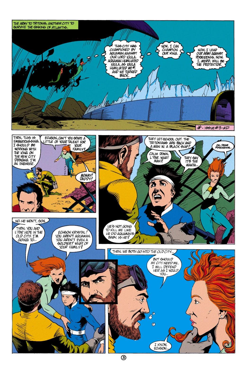 Aquaman (1991) Issue #6 #6 - English 4