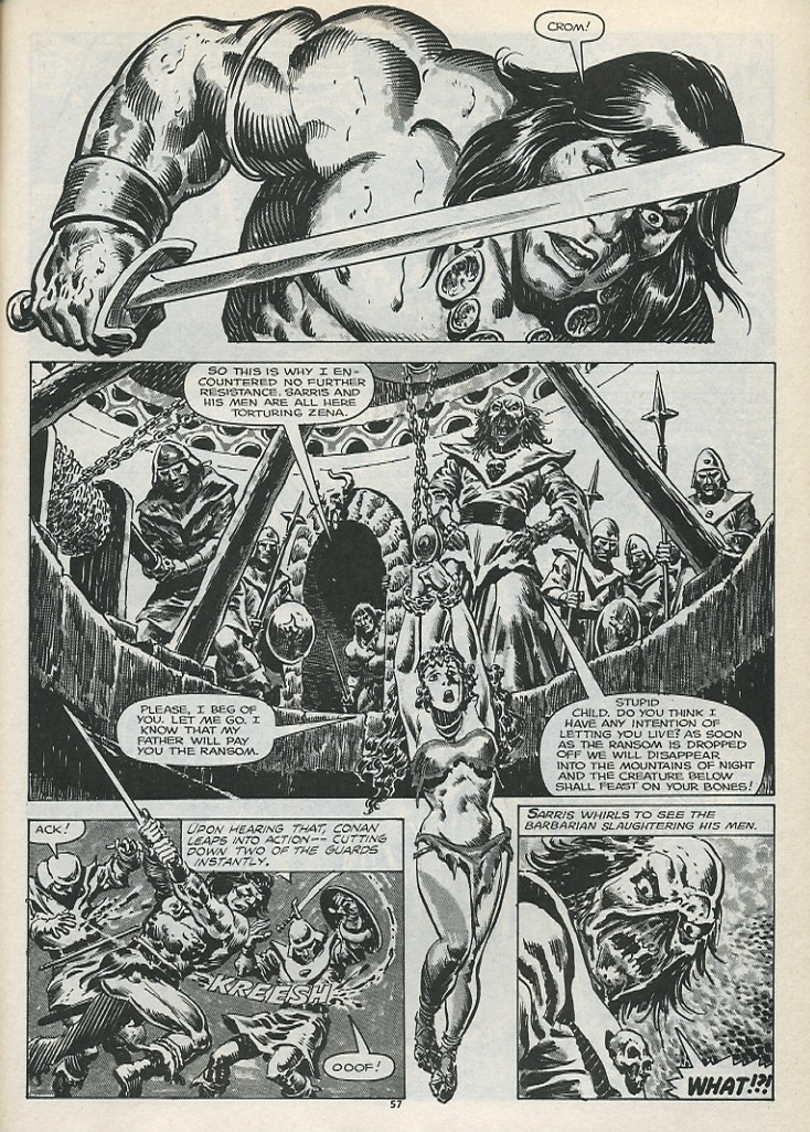The Savage Sword Of Conan Issue #179 #180 - English 59