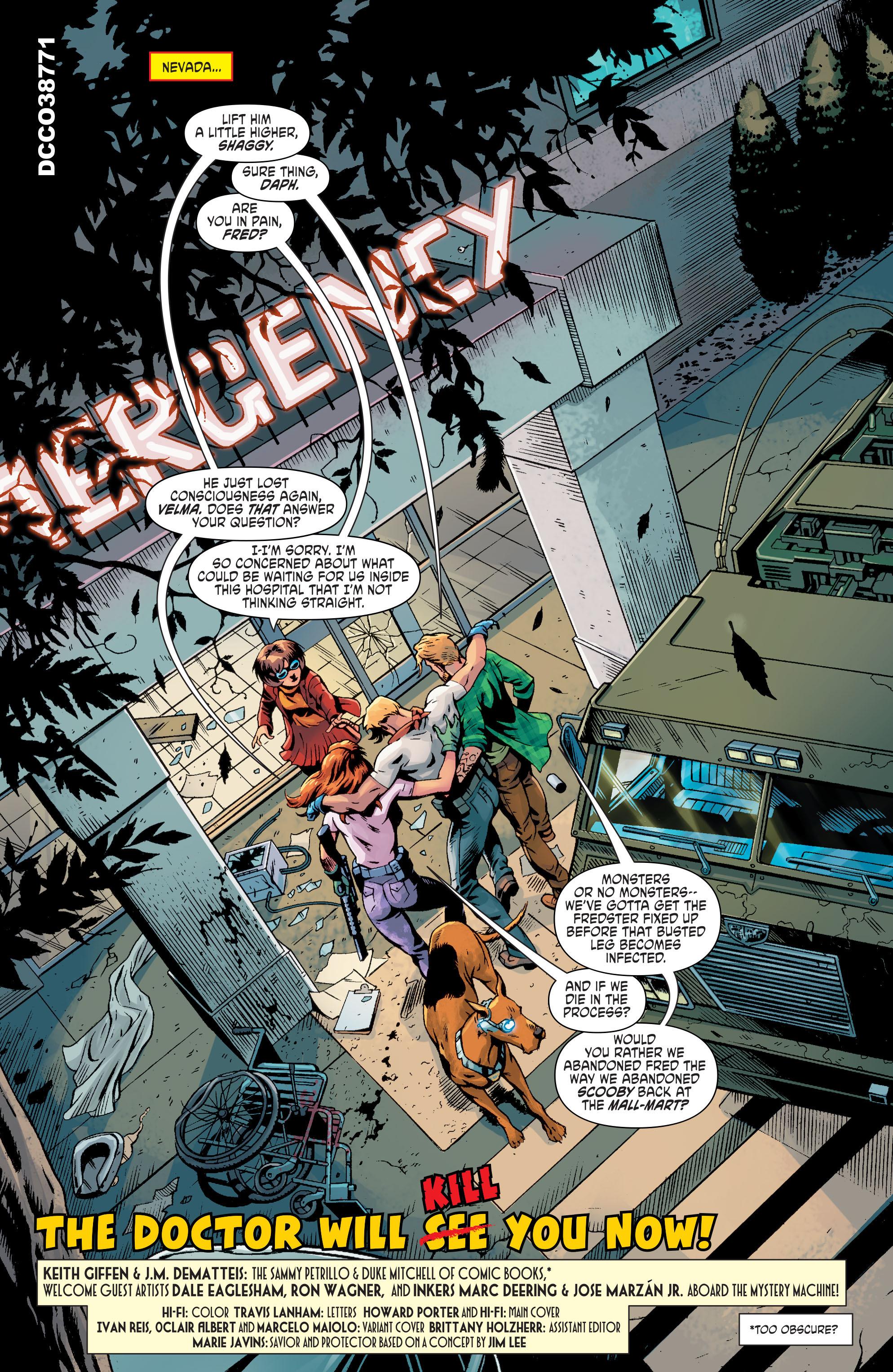 Read online Scooby Apocalypse comic -  Issue #8 - 4