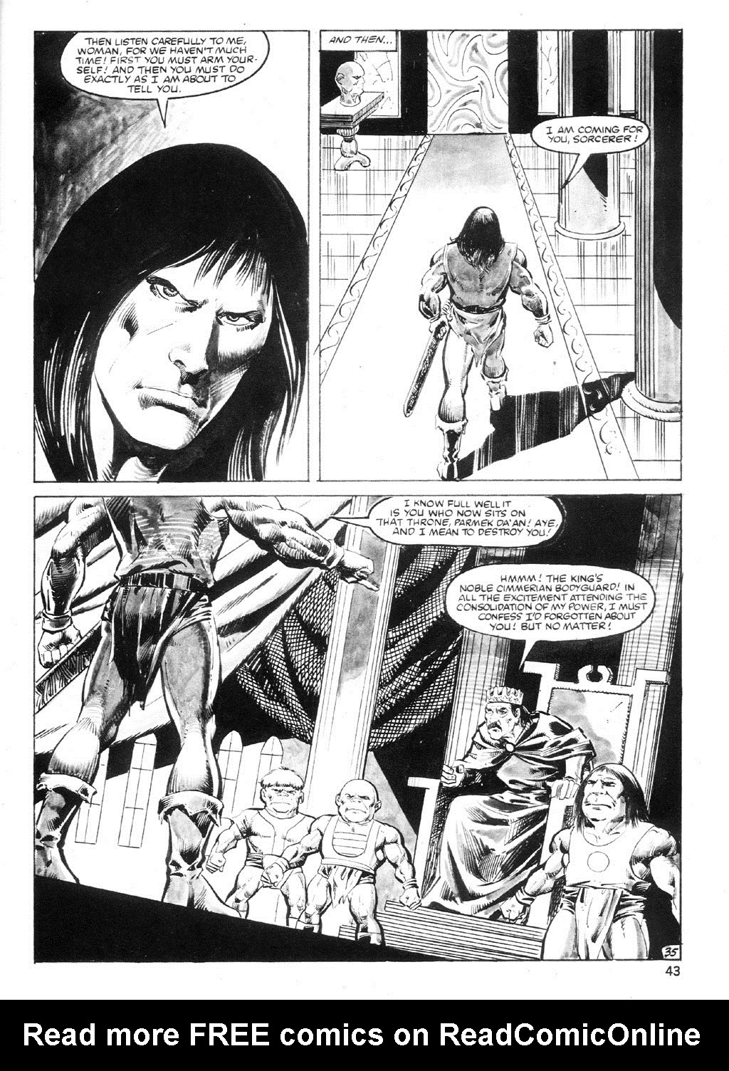 The Savage Sword Of Conan Issue #94 #95 - English 42