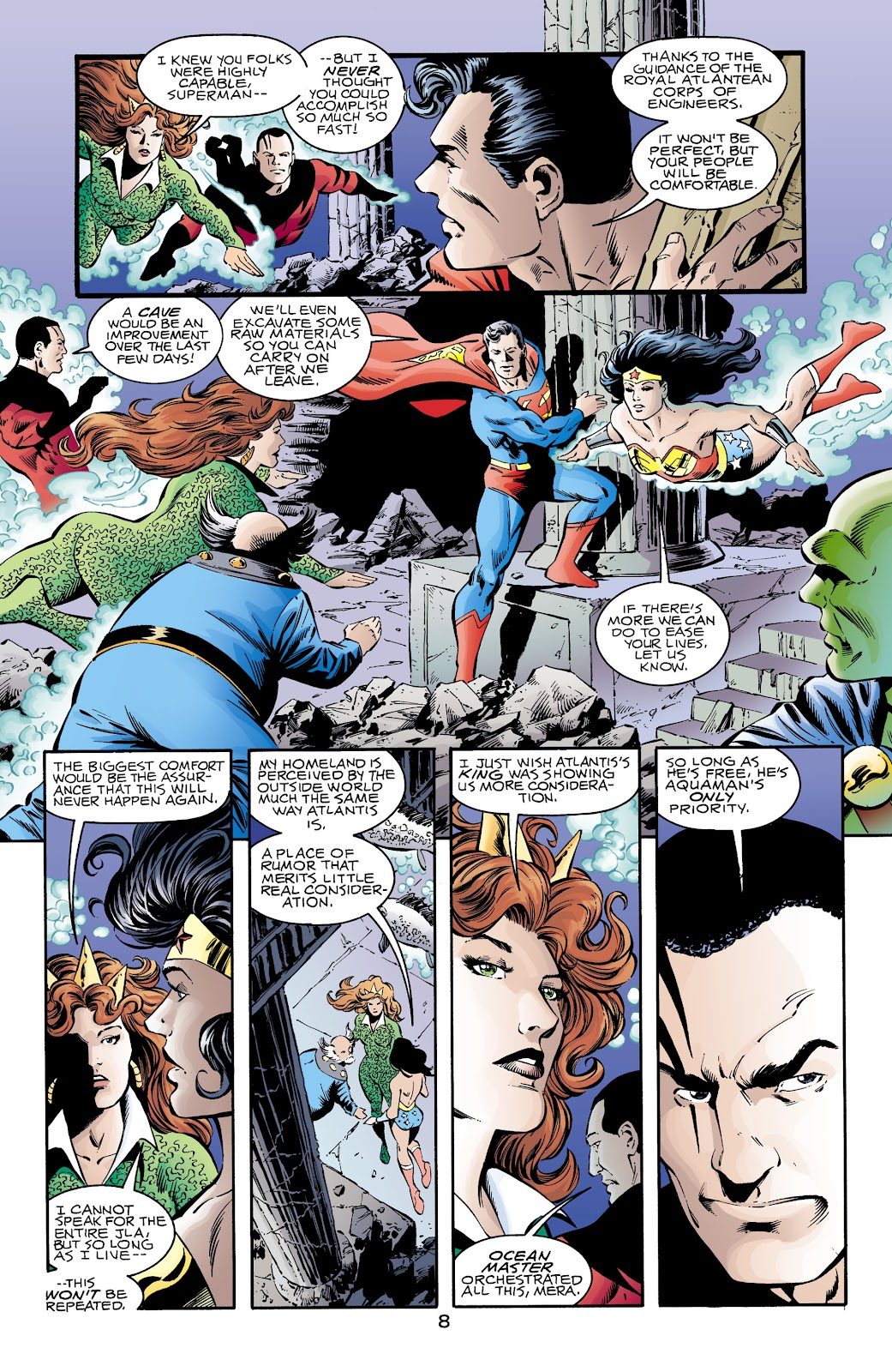 Aquaman (1994) Issue #69 #75 - English 8