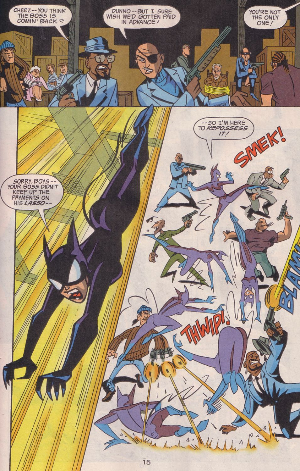Read online Adventures in the DC Universe comic -  Issue #19 - 16