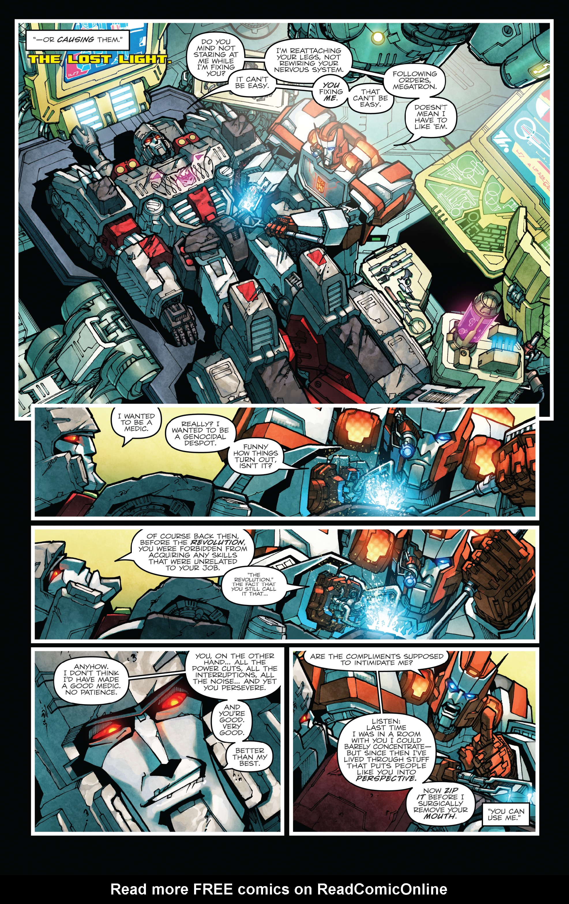 Read online The Transformers: Dark Cybertron Finale comic -  Issue # Full - 84
