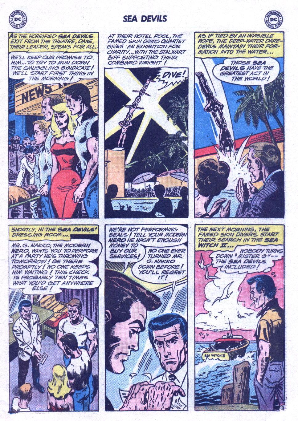 Read online Sea Devils comic -  Issue #3 - 6