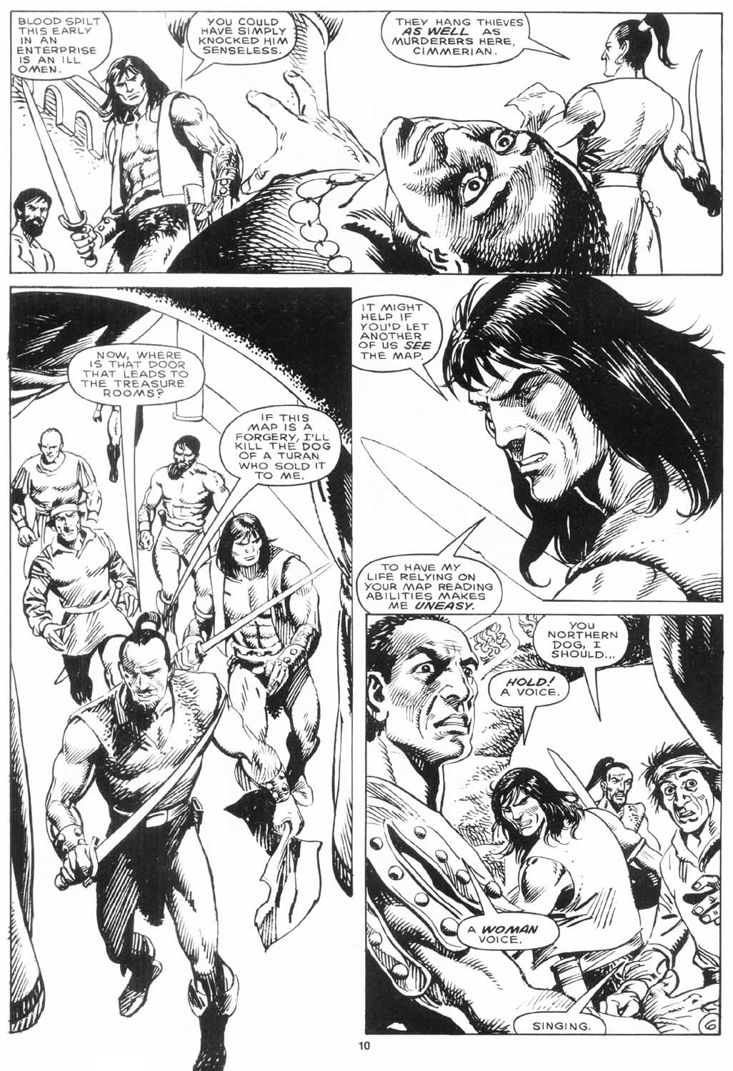 The Savage Sword Of Conan Issue #156 #157 - English 11