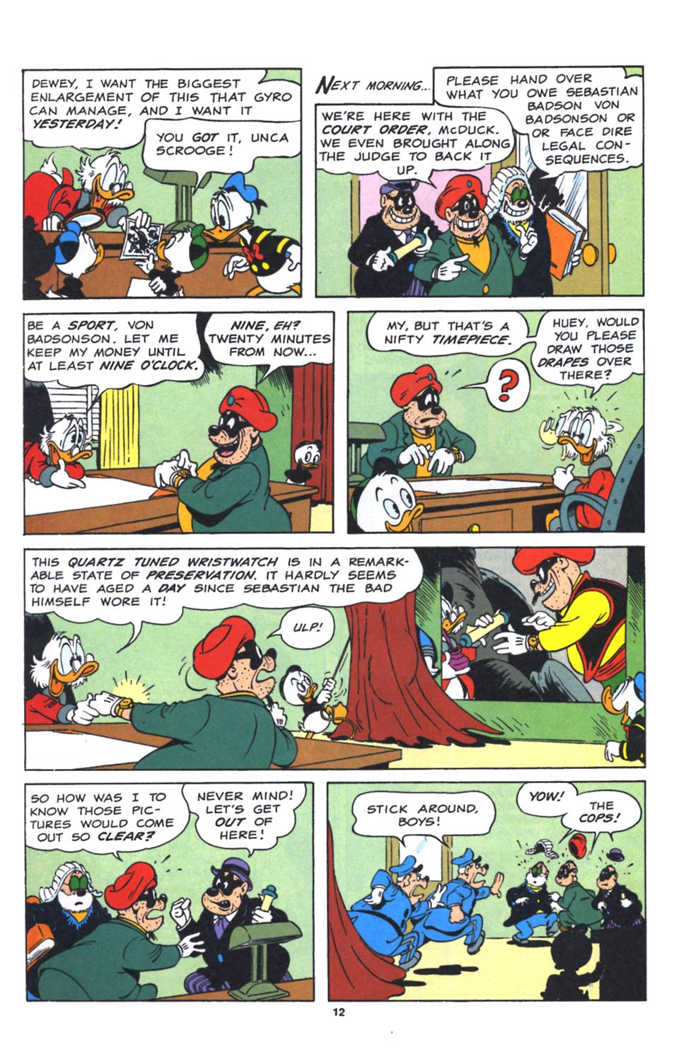 Uncle Scrooge (1953) Issue #250 #250 - English 36