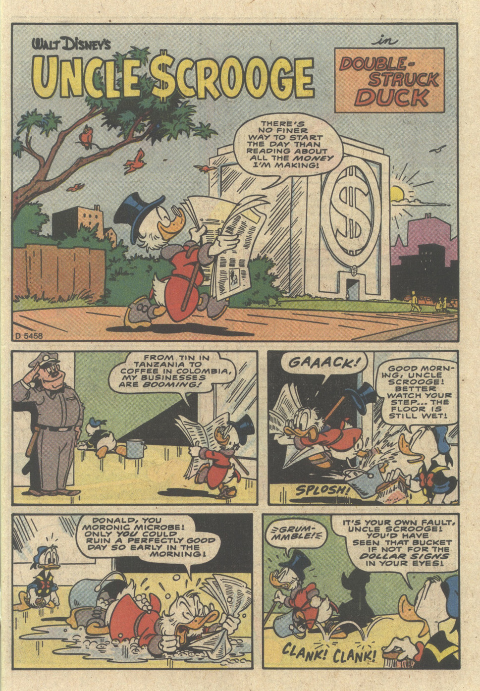 Uncle Scrooge (1953) Issue #229 #229 - English 3