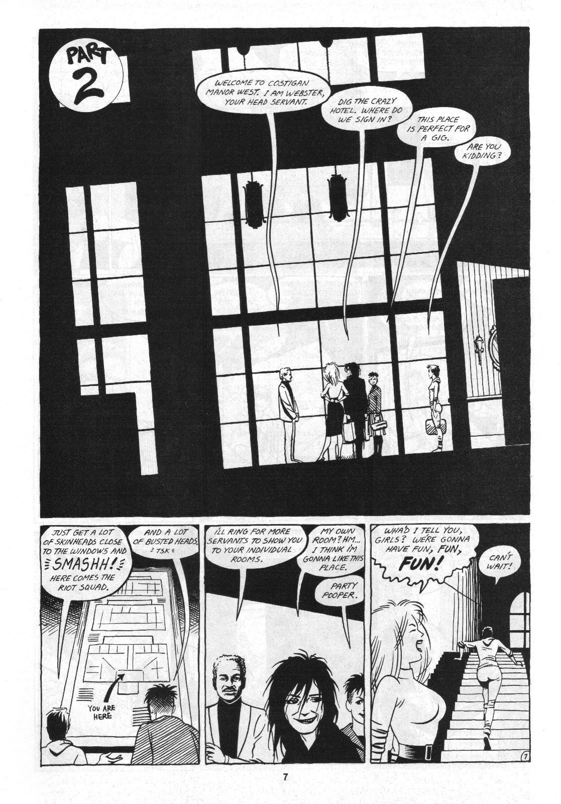 Love and Rockets (1982) Issue #4 #3 - English 9