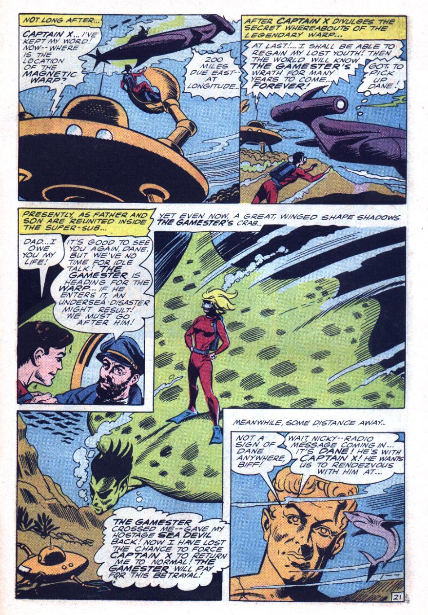 Read online Sea Devils comic -  Issue #26 - 32