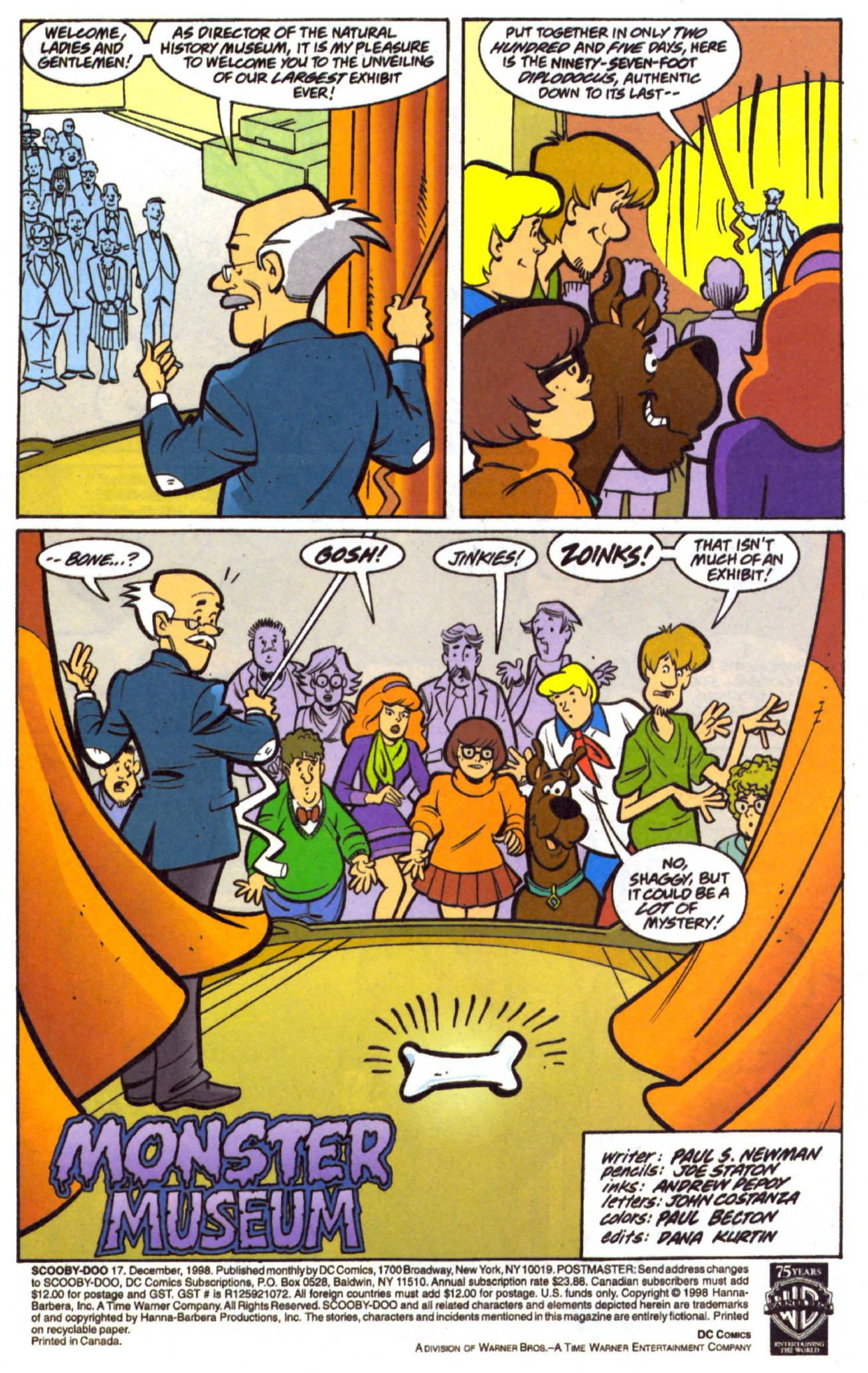 Read online Scooby-Doo (1997) comic -  Issue #17 - 2