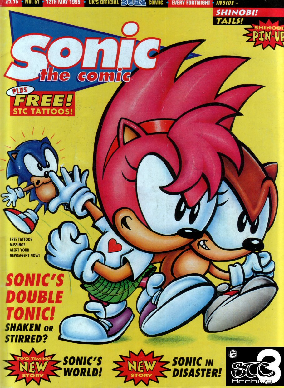 Comic Sonic the Comic issue 51