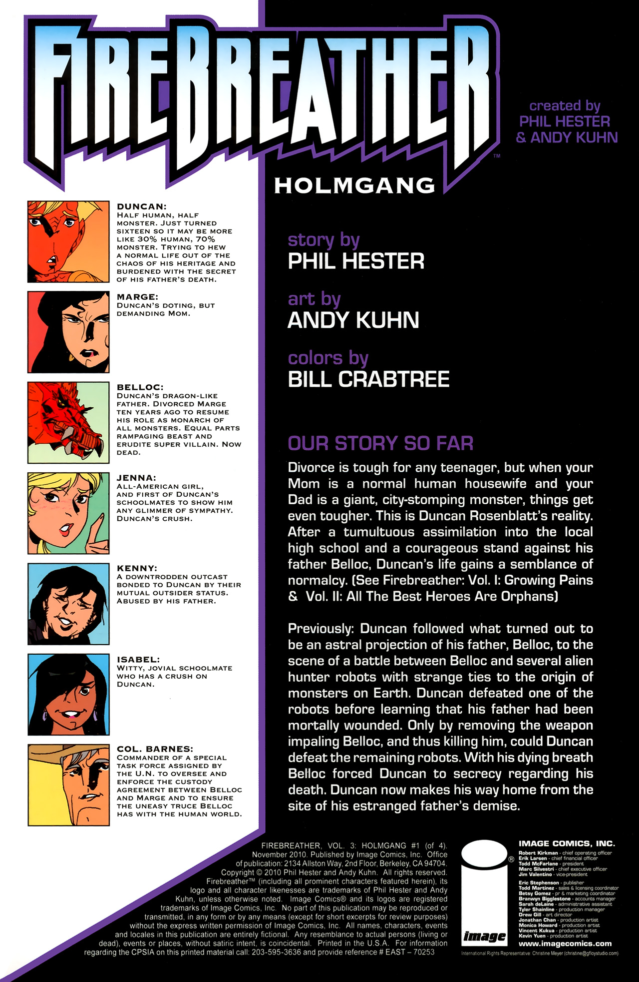 Read online FireBreather: Holmgang comic -  Issue #1 - 3