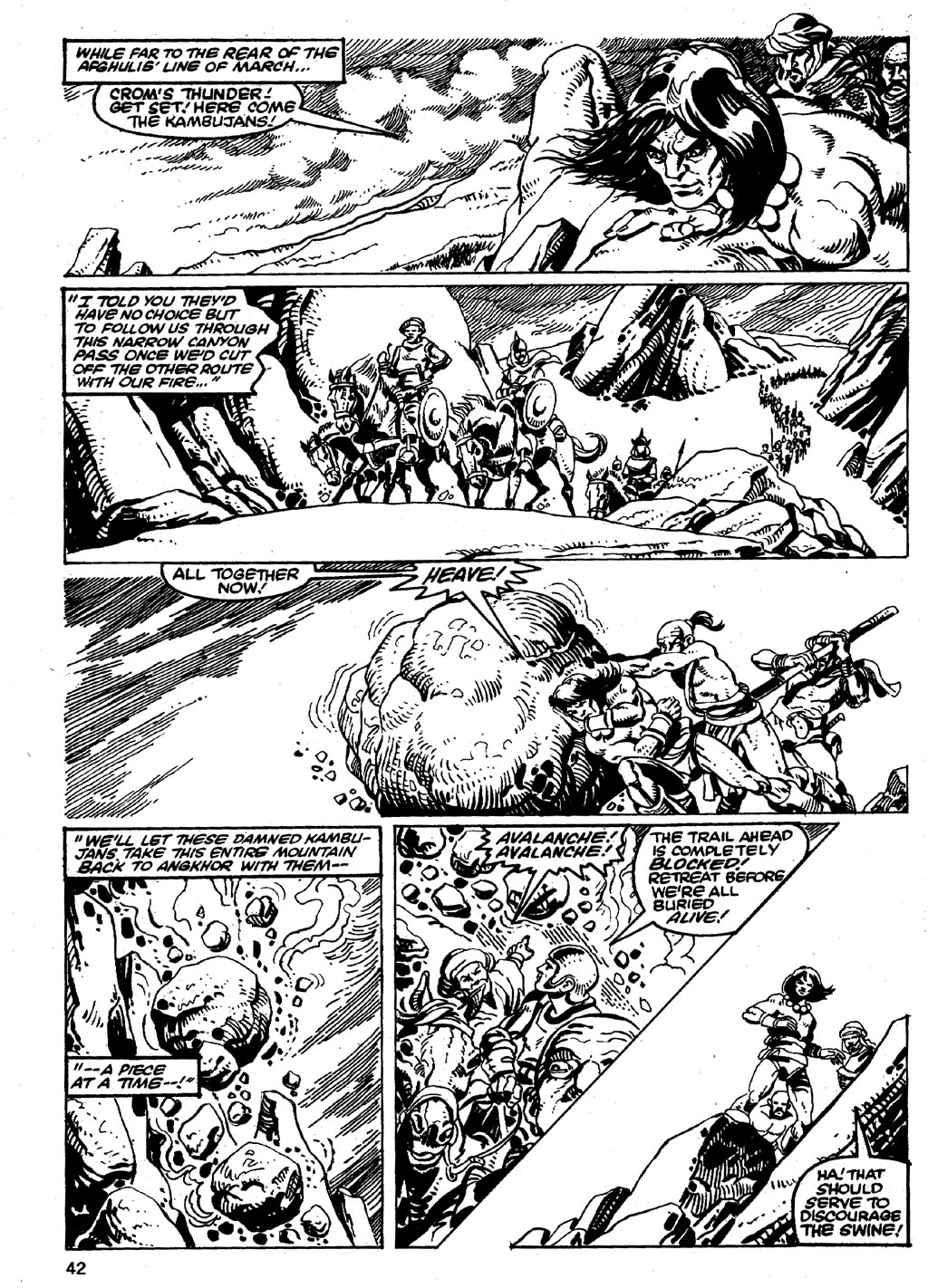 The Savage Sword Of Conan Issue #86 #87 - English 42