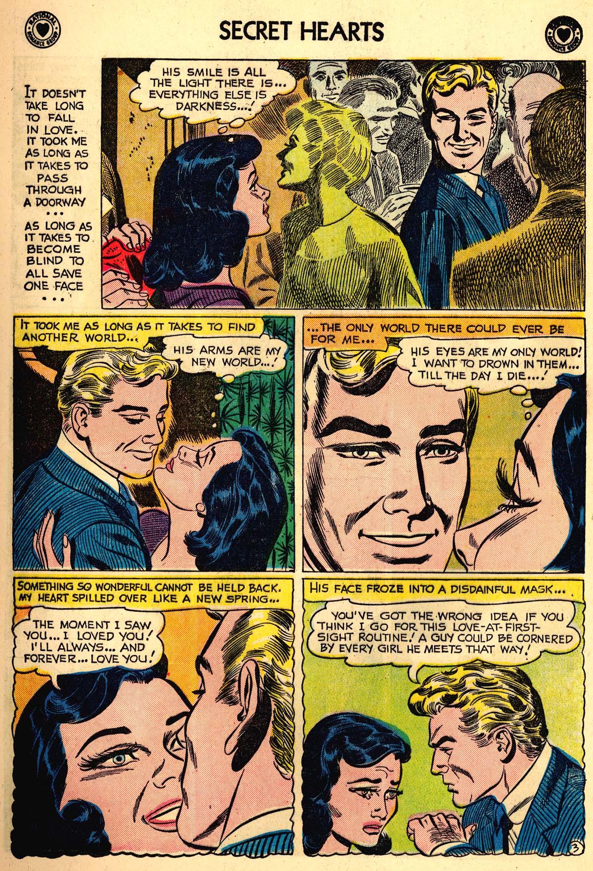 Read online Secret Hearts comic -  Issue #59 - 5