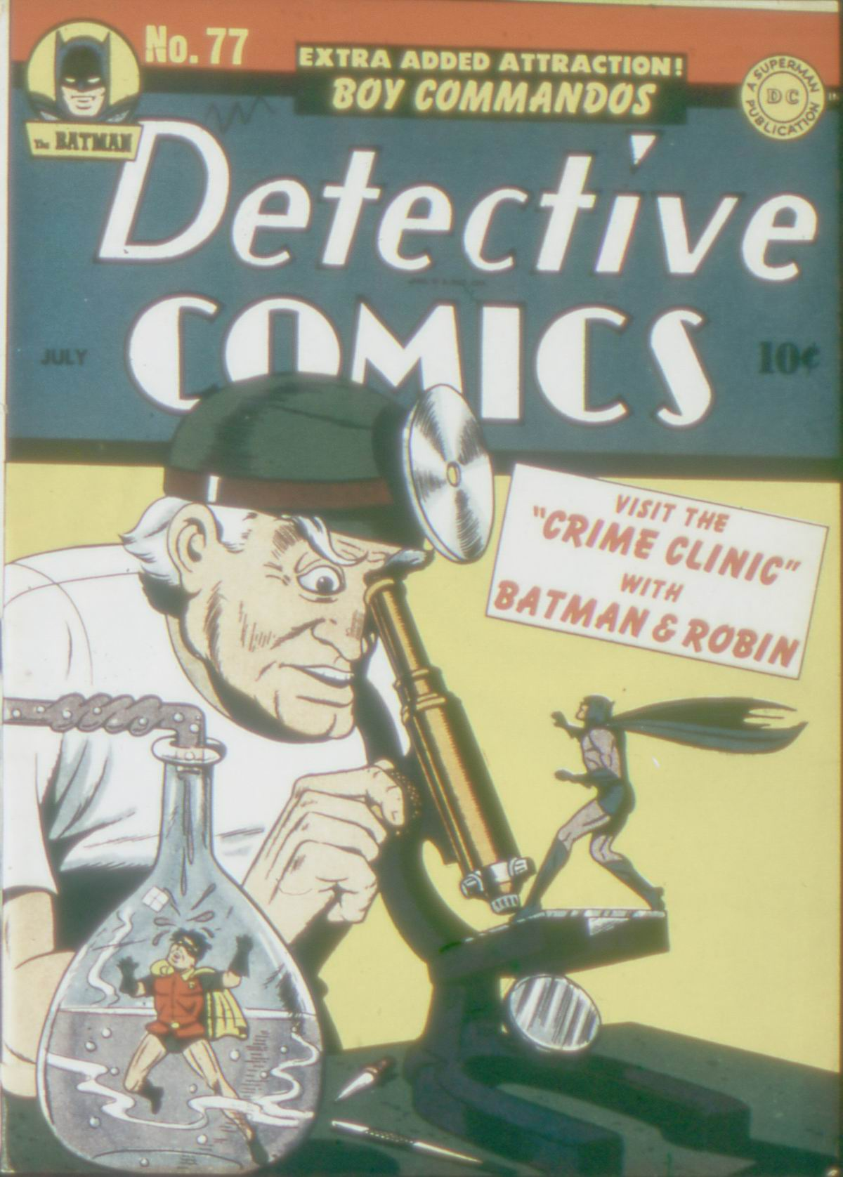 Detective Comics (1937) 77 Page 1